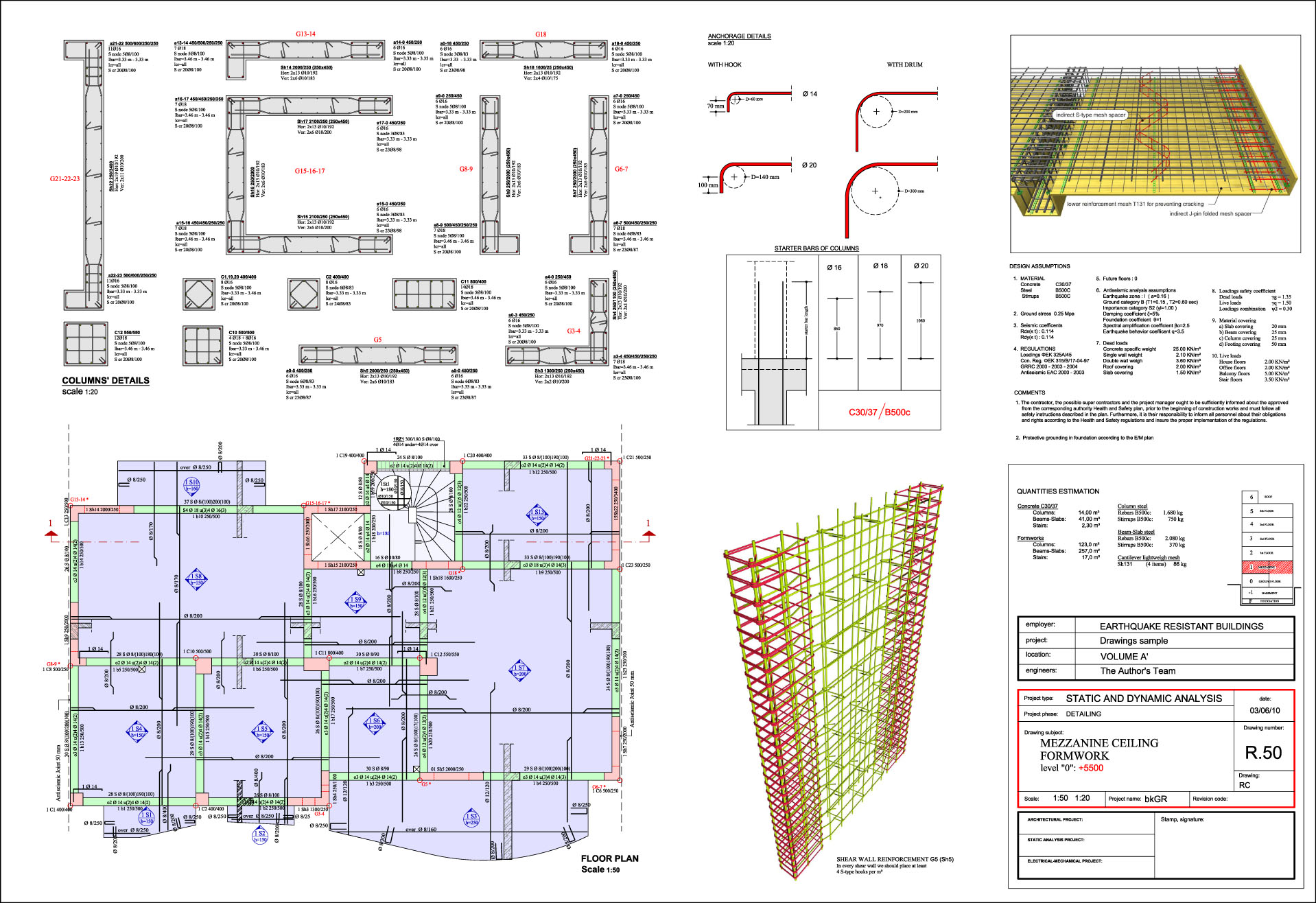 Steel fixer s drawings for How to read structural blueprints